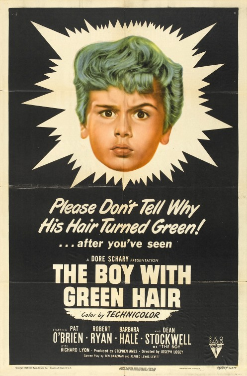 The Boy with Green Hair movie