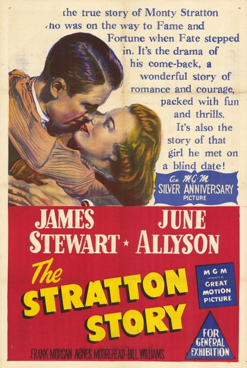 The Stratton Story Movie Poster - Internet Movie Poster Awards Gallery