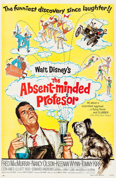 The Absent-Minded Professor Poster - Internet Movie Poster Awards ...