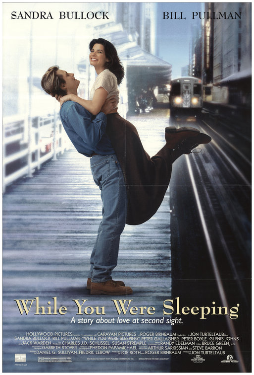While You Were Sleeping Movie Poster - Internet Movie Poster ...