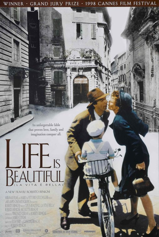 Life is Beautiful Poster - Click to View Extra Large Version