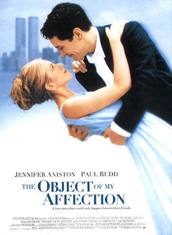 The Object of My Affection Movie Poster - Internet Movie Poster ...