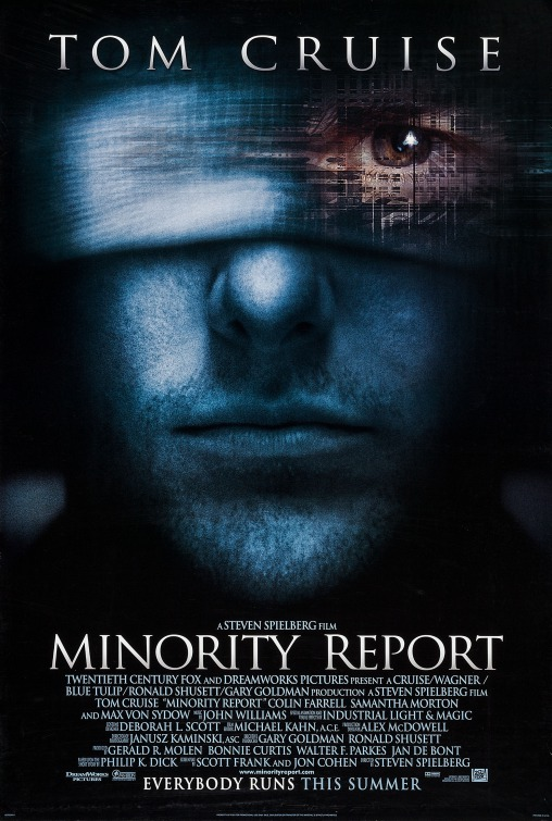 Minority Report Movie Poster Inter Awards Gallery
