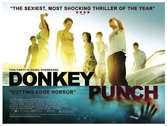 Donkey Punch Movie Poster Donkey Punch Movie Poster 2 Internet Movie Poster Awards Gallery 535x404 Movie-index.com
