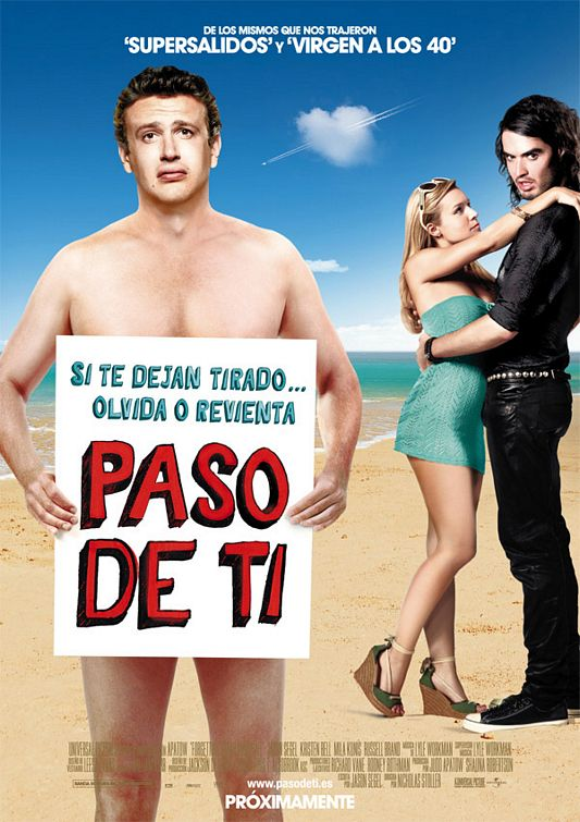 Forgetting Sarah Marshall Movie Poster #4 - Internet Movie Poster ...