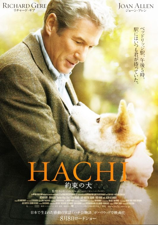 Hachiko: A Dog&#39;s Story Hachiko A Dogs Story Movie Poster Internet Movie Poster Awards 532x755 Movie-index.com