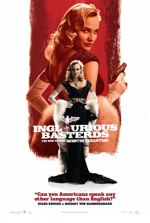 Inglourious Basterds Movie Inglourious Basterds Movie Poster 13 Internet Movie Poster 510x755 Movie-index.com